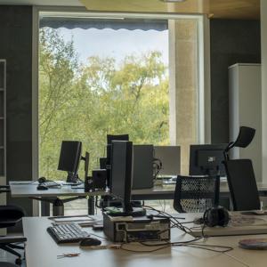 Mesas zona de traballo