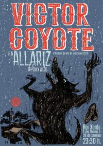 Coyote Allariz concerto Allariz