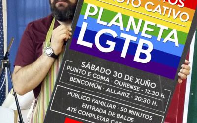 Planeta LGTB con Caxoto Cativo