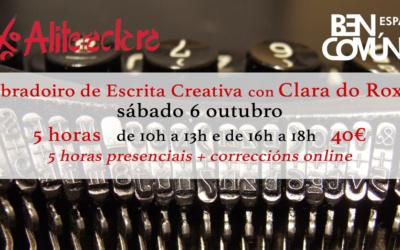Obradoiro de Escrita Creativa con Clara do Roxo