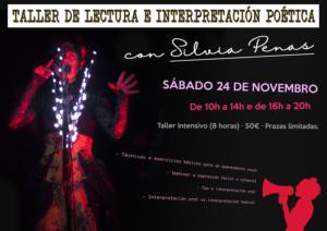 Taller de Lectura e Interpretación Poética con Silvia Penas @ BenComún Espazo