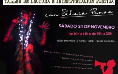 Taller deLectura e Interpretación Poética con Silvia Penas