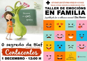 Contacontos Os segredos de Blef + taller de emocións en familia @ BenComún Espazo