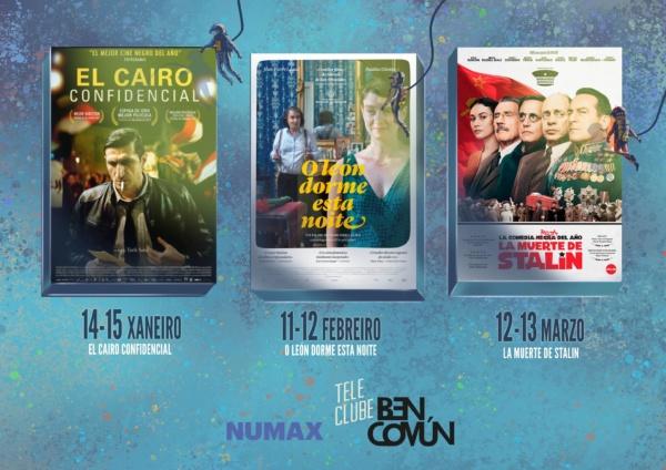 TELECLUBE películas xaneiro - febreiro - marzo 2019