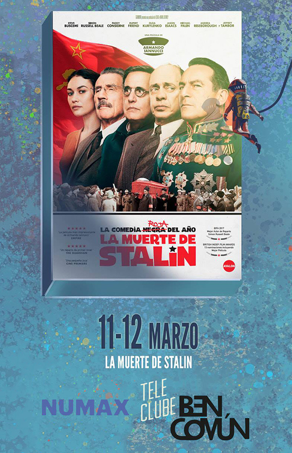 La muerte de Stalin. Teleclube BenComún