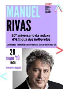 Conversa co escritor Manuel Rivas @ BenComún Espazo