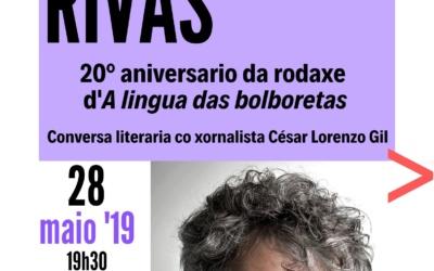Conversa co escritor Manuel Rivas