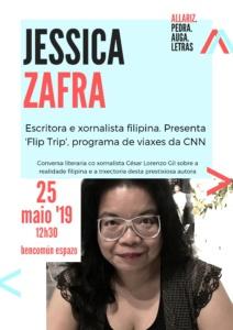 Conversa con Jessica Zafra, escritora e xornalista filipina @ BenComún Espazo