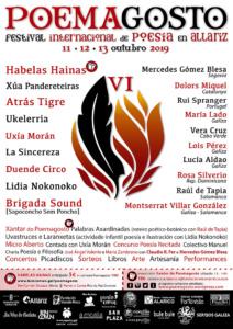 6º Poemagosto. Festival Internacional de Poesía en Allariz