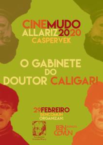 O gabinete do Doutor Caligari con Caspervek @ BenComún Espazo