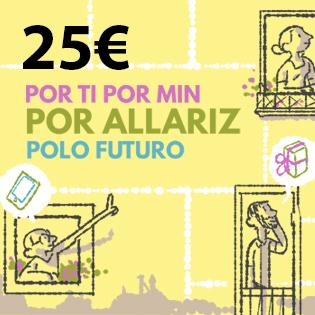 Bono Prepago 25 euros