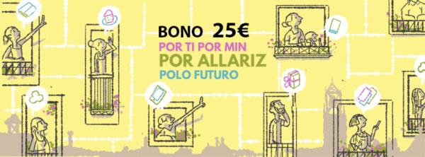 Bono Prepago 25 euros Banner