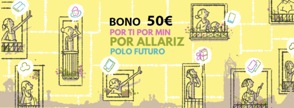 Bono Prepago 50 euros Banner